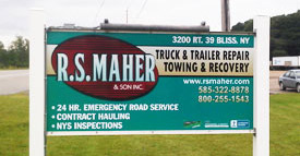 RS Maher sign